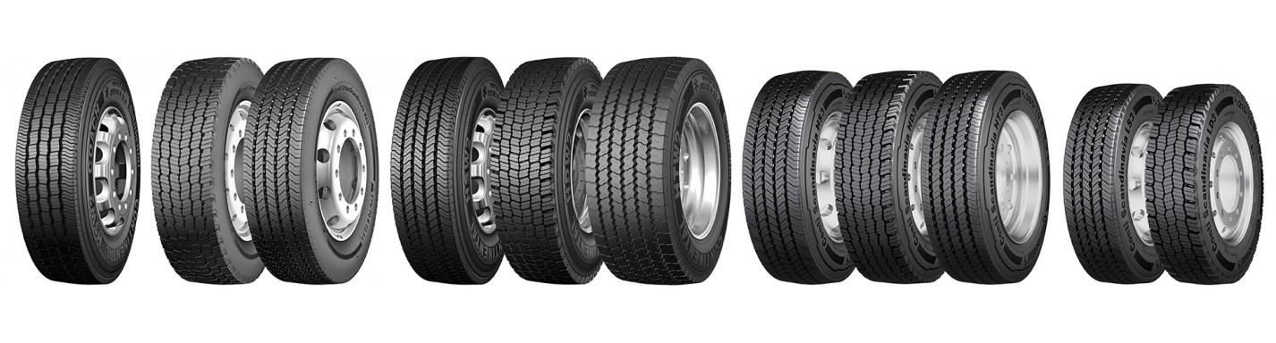 Široký výber pneumatík
